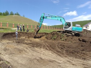 Excavating the foundation